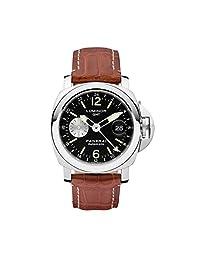 Panerai Men's PAM00088 Luminor GMT Black Dial Watch by Panerai