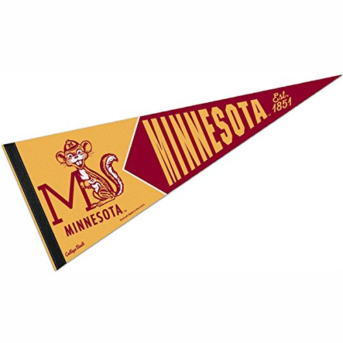 WinCraft Minnesota Gophers College Vault and Throwback - Wool Gophers Golden Minnesota