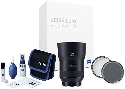 ZEISS Batis 1.8/85 Lens Premium Kit para cámaras Sony con Sistema ...