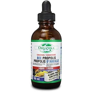 Amazon.com: Organika Bee propolis alcohol free liquid, 100ml: Health ...