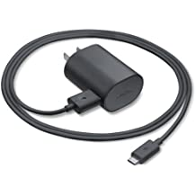 Nokia Lumia Travel Charger with Detachable Micro USB Charging Data Sync Cable for Compatible with Nokia Lumia 1520, 1020, 925, 928, 920, 900, 820, 800, 520, 521 (Bulk Packaging) (Black)
