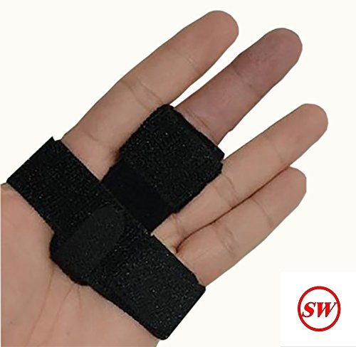 SW Trigger Finger Brace Splint Pain Relief Comfortable Materials Heal Stenosing Tenosynovitis and Softens Injury Symptoms | Adjustable for Pinky,Thumb,Ring,Index, and Middle Finger by SW (Image #9)