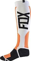 Fox Racing MX Tech 2017 Socks Orange/White/Black LG/XL