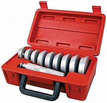 (Bearing Race and Seal Bush Driver Set with Carrying Case – Master / Universal Kit for Automotive Wheel Bearings)