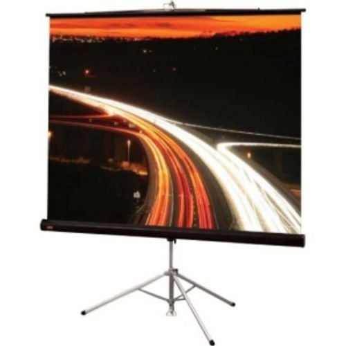 Draper Inc Matte White Diplomat/R Portable Screen with Black Carpeted Case - 6' diagonal NTSC Format Size: 100