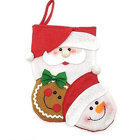 Ruanyi Calze Di Natale Piccole Calze Di Babbo Natale Regalo