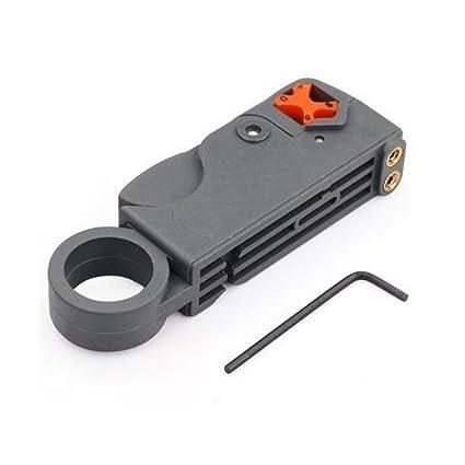 TOOGOO(R) Cable Coaxial Cortador Giratorio para Quitar Cortar Cable