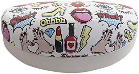 Hogar y Mas Funda//Estuche Gafas Ni/ña Teen Fashion 4 Originales Modelos a Elegir 16,5X8X7 cm Dise/ño de Stickers - A