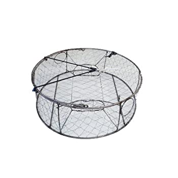 Image of Bait Traps Ladner Traps 30-Inch Stainless Steel Crab Trap