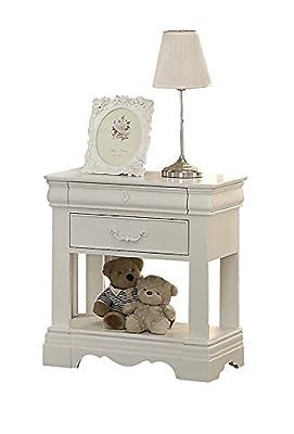 ACME Furniture Estrella 39153 Nightstand, White, One Size