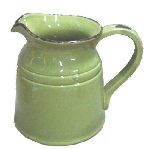 green ceramic pitchers - 6