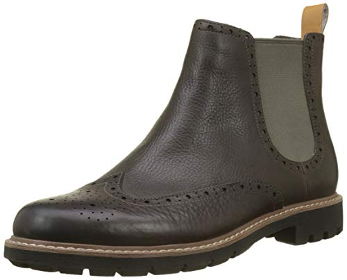 Top Chelsea taupe Batcombe Homme Bottes Leather Gris Clarks 6wtaxTq5x