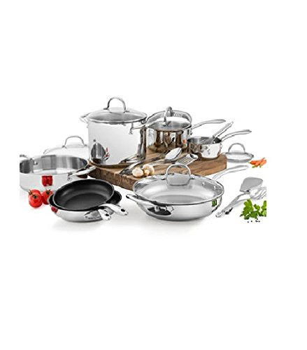 Wolfgang Puck Stainless Steel 18 PC cookware Set