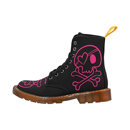 LEINTEREST skull Martin Boots Fashion Shoes For Women cG5BZnHV