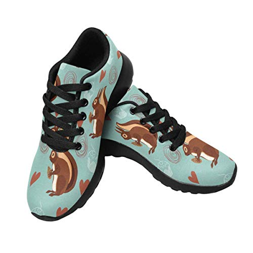 Cupcake Tennis Shoes (INTERESTPRINT Women's Tennis Athletic Sneakers Cute Koalas and Cupcakes 7 B(M))