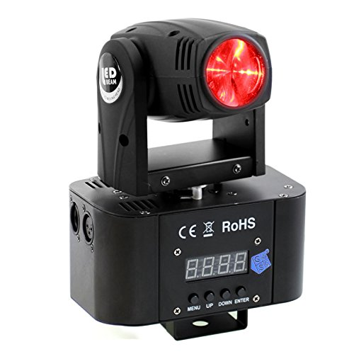 Dmx Moving Head Led Wash (GBGS LED Moving Head Light DMX RGBW 4-in-1 Stage Lighting DJ Club Party Wedding Show Effect Lighting)