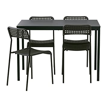 110 esHogar Tarendoadde SillasNegro Y CmAmazon Mesa Ikea 4 FcT13uKlJ