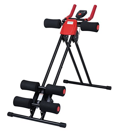 Finether AB Cruncher Daily Exercise Shaper Abdominal Trainer with 6 Resistance Incline Levels
