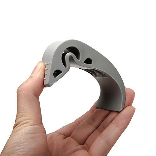 Decorative Door Stopper With Free Bonus Holders, Rubber Door Stop Works On  All Floor Surfaces