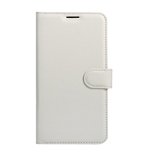 Zenfone Flip ID PU Cover ZD553KL ZD553KL Leather 4 Asus Protective Brown Case Case with Card Selfie Premium Slots Wallet White HualuBro Selfie for Handmade Phone Credit Wallet Zenfone 4 aCwxBvw6Aq