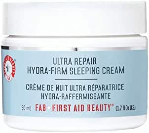 Facial Moisturizer: First Aid Beauty Ultra Repair Hydra-Firm Sleeping Cream
