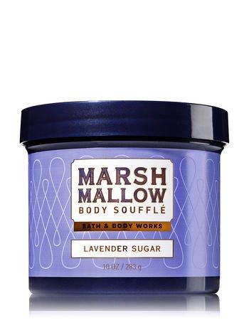 - Bath & Body Works Lavender Sugar 10 Ounce Marshmallow Body Souffle