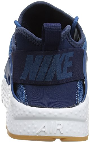 Nike WMNS Air Huarache Run Ultra, Les Formateurs Femme, Vert Bleu (Industrial Blue/Midnight Navy/White)