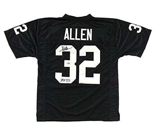 Marcus Allen Autographed Jersey - Oakland Black Custom