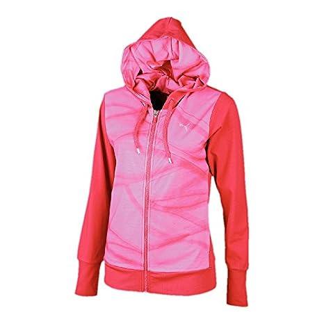 Sudadera Ii Con Studio Para Mujer Rosa Rojo Talla Cremallera Puma RTwUpxnaxq