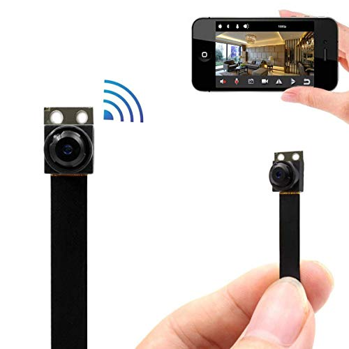 PNZEO V3 Mini spy Hidden Camera 1080P HD IP Camera Wireless WiFi Surveillance Camera Video Recorder Remote View Motion Detecting (Upgrade Enhanced Version) by PNZEO