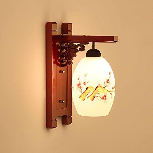 Abat La En Chinois Jour Moderne Peint Main 1411 Verre À Style D2IEH9