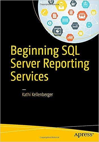 Beginning Sql Server Reporting Services Kellenberger Kathi 9781484219898 Amazon Com Books