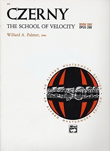Czerny: the School of Velocity: Opus 299