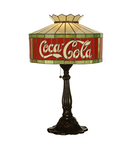 Cocacola Stained Glass Light Table Lamp Arrowhead Glass Table Lamp