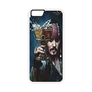 """C-EUR Customized Pirates of the Caribbean Pattern Hard Phone Case For iPhone 6 Plus (5.5"""")"""
