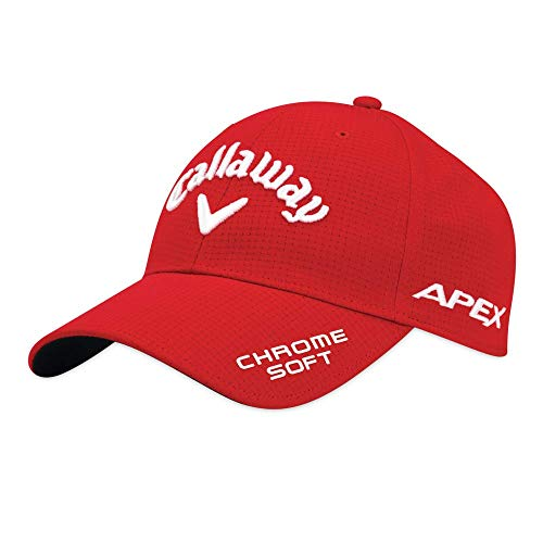 Callaway Golf 2019 Tour Authentic Performance Pro Hat, Red