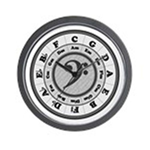 (CafePress - Bass Clef Circle Of Fifths - Unique Decorative 10