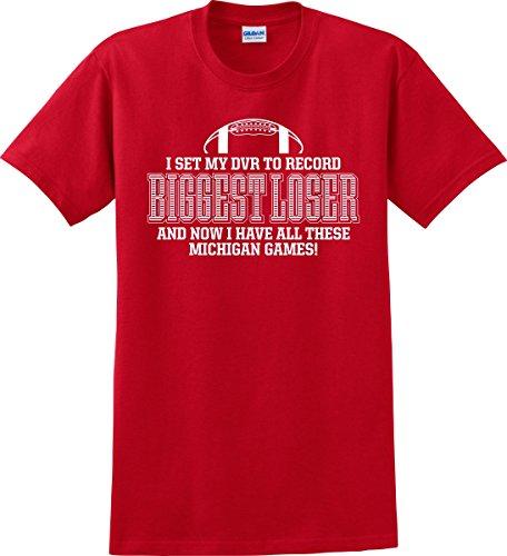 Ohio State Buckeyes Fans Biggest Loser Michigan T-shirt (S-5X) (Biggest Cities In Ohio)