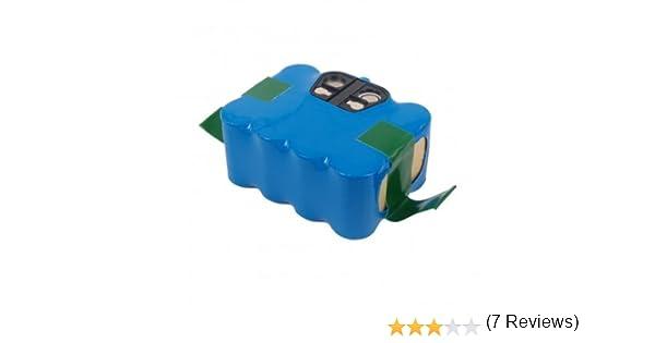 NX - Batería para Aspirador 14.4V 2Ah: Amazon.es: Electrónica