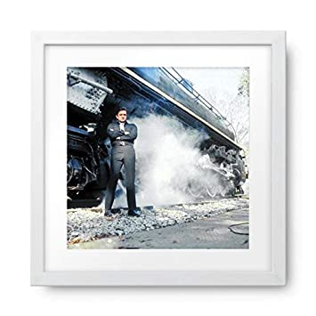 Amazon.com: Photos by Getty Images Johnny Cash - Framed Print ...