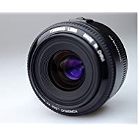 HM 35mm Lens YN35mm F2 Lens 1:2 AF / MF Wide-Angle Fixed/Prime Auto Focus Lens For Canon EF Mount EOS Camera