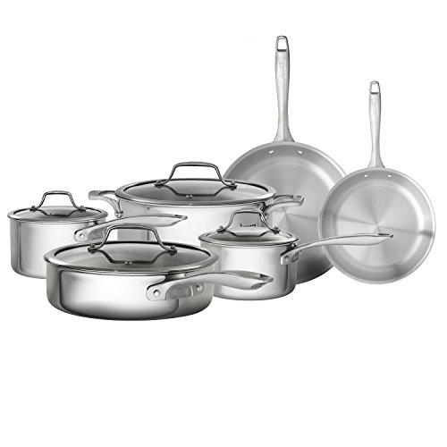 Bialetti 07476 Tri-Ply Cookware Set
