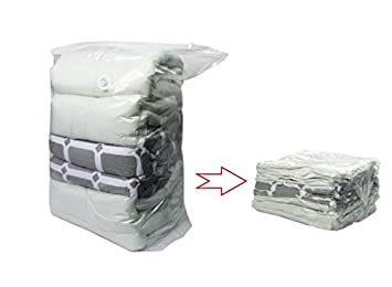 Enormous Space Saver Cube Vacuum Storage Bags Three Pack For Blankets Comforters