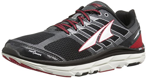 Altra Men's Provision 3 Road Running Shoe, Black/Red