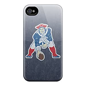 Perfect Hard Cell-phone Cases For Iphone 4/4s With Provide Private Custom High-definition New England Patriots Skin PhilHolmes