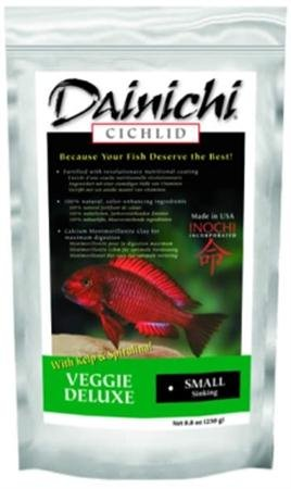 Fish & Aquatic Supplies Cichlid Veggie Delux Sinking
