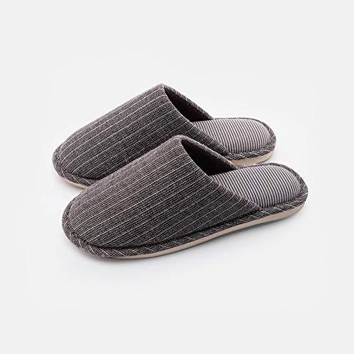 e e comode uomo pantofole per calde antiscivolo D la Pantofole per per cotone casa silenziose in YMFIE interni donna wqfAXfa