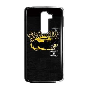 Batman Bat Logo Yellow & Black LG G2 Cell Phone Case Black DIY Gift xxy002_5194609