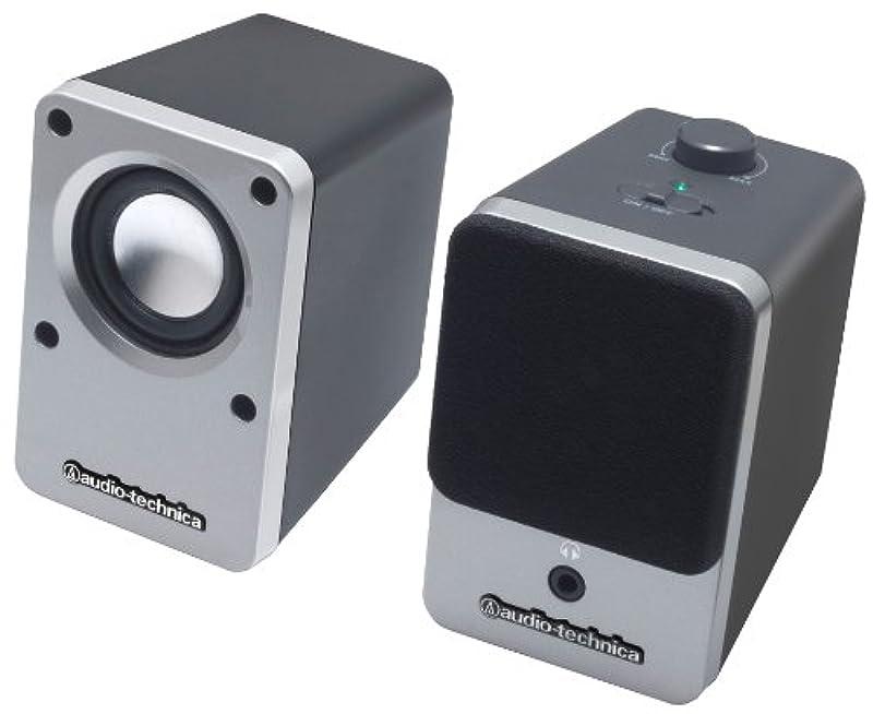 오디오 테크니카 데스크탑 스피커 AT-SP102 SV