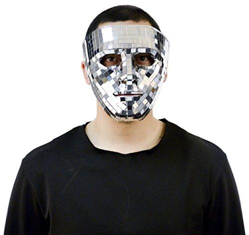 Mirror Mask Costume Accessory